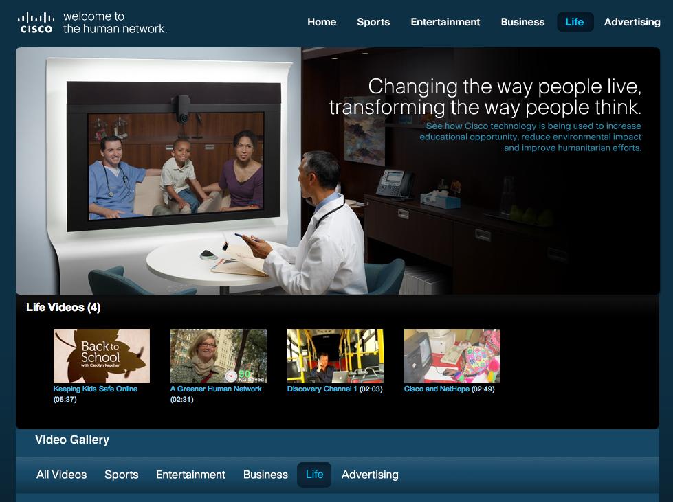 Ciscos Videolounge