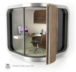 Der OfficePod - HomeOffice für den Garten