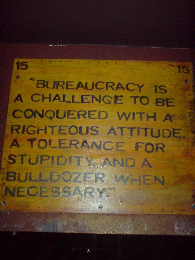 Bürokratie als Herausforderung
